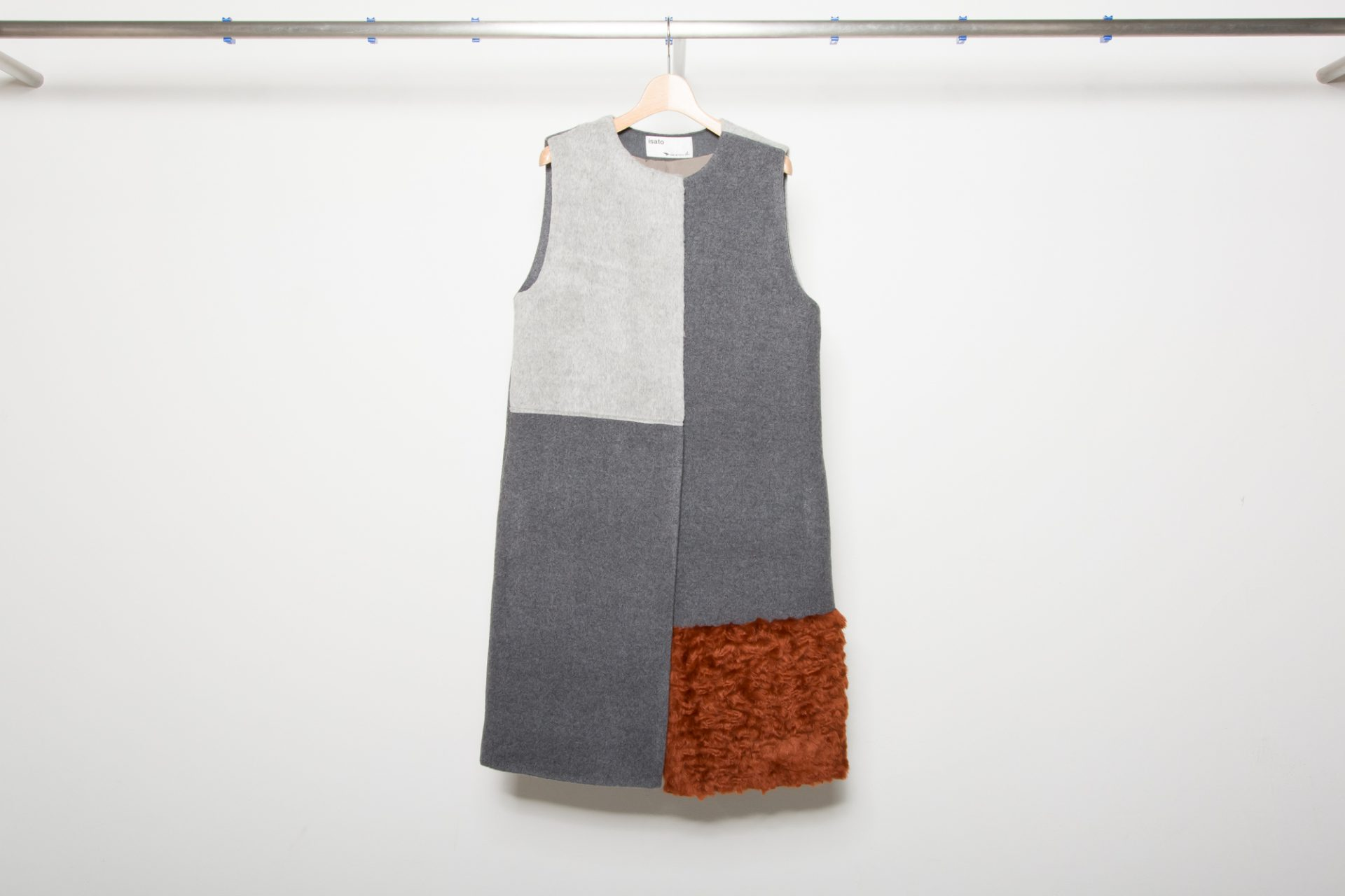 Switch Fake Fur Vest Coat