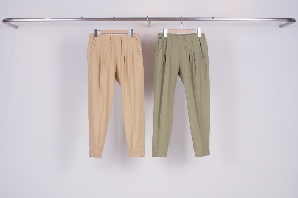 tapered relax pants (plain)