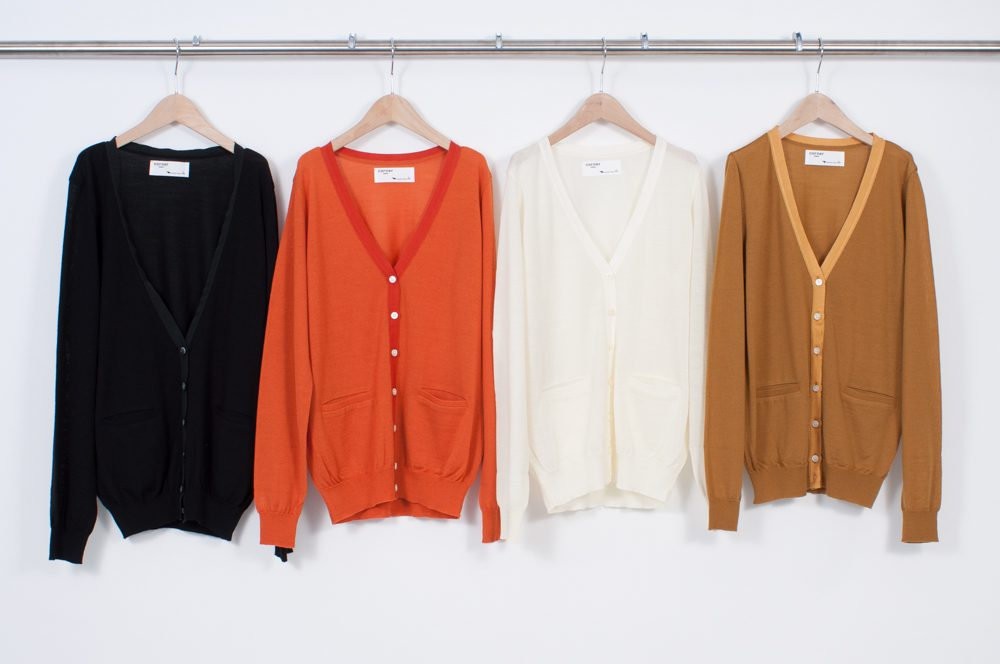 Ribbon grosgrain Cardigan