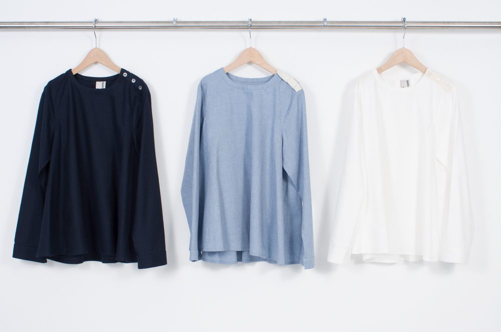 Pullover A-line blouse