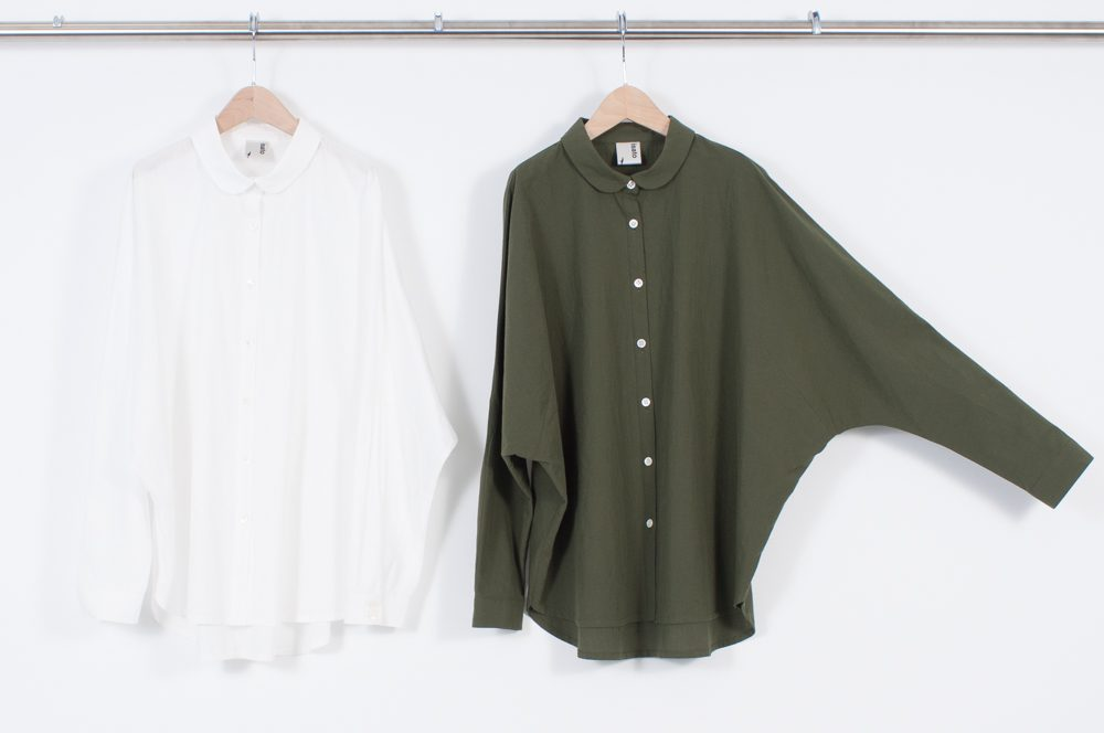 Dolman sleeve blouse (plain)