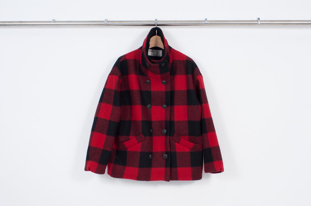 Funnel color coat (Buffalo check)