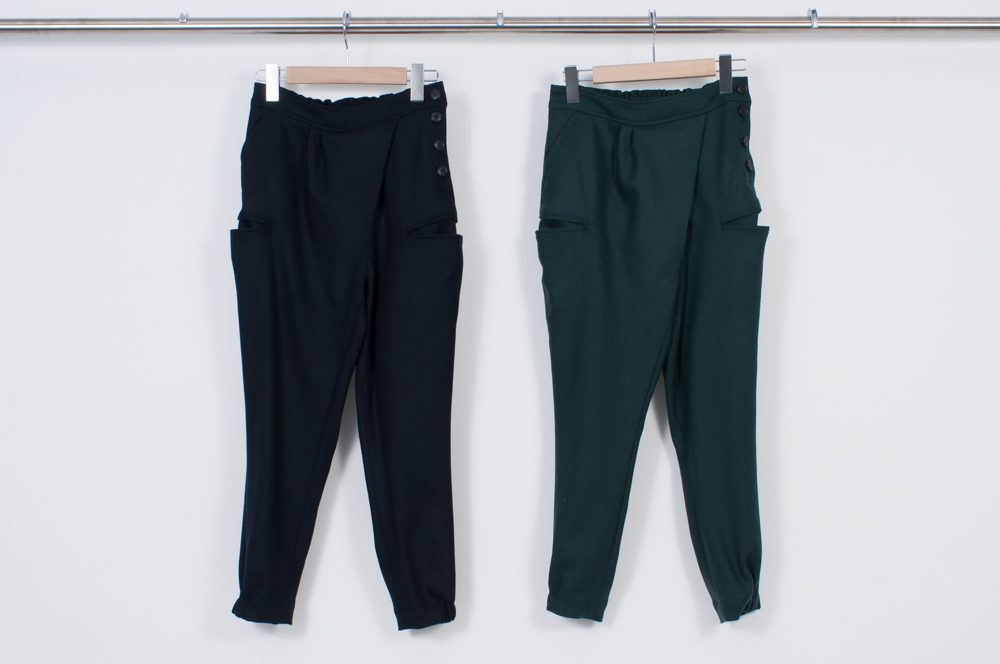 Deformation Thailand pants (wool)