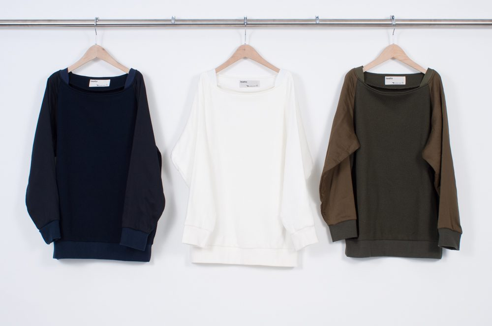 Grosgrain with boat neck pullover