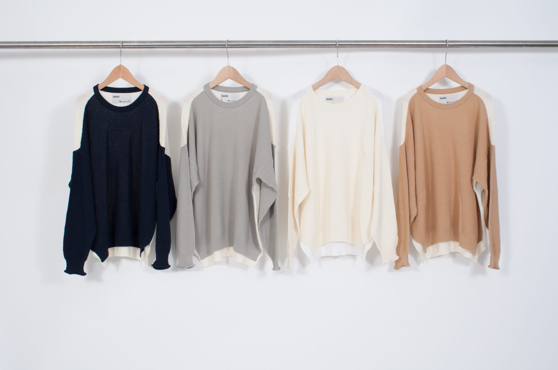 Color scheme knit pullover